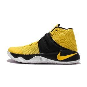 Nike Kyrie 2 Yellow Hightop